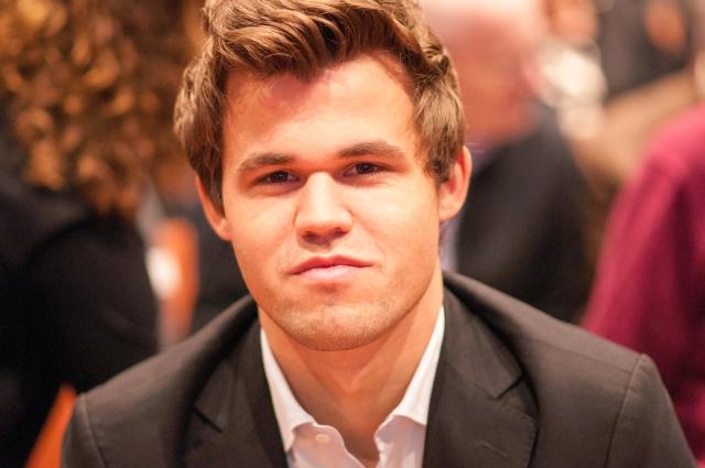 World Chess Champion, Magnus Carlsen