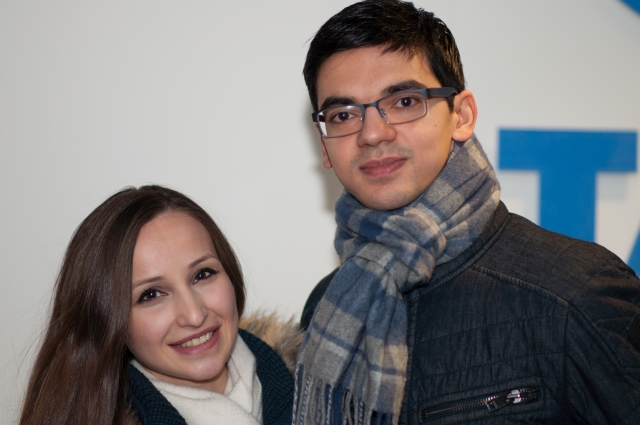 Anish Giri and Wife Sopiko Guramishvili