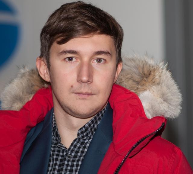 World Chess Championship 2016 finalist, Sergey Karjakin.