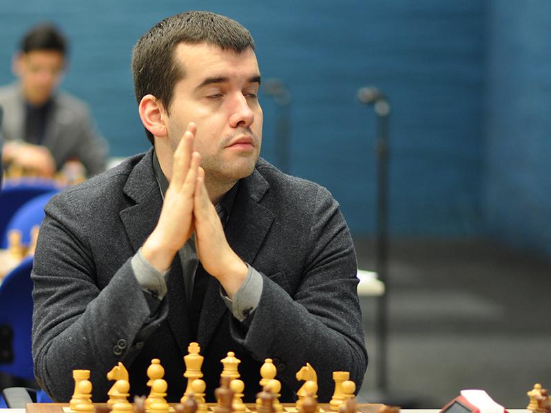 Photo of Ian Nepomniachtchi.