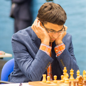 Viswanathan Anand at the 2018 Tata Steel Chess Tournament © | Hot Off The Chess, http://www.hotoffthechess.com