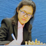 Hou Yifan at the 2018 Tata Steel Chess Tournament   © Hot Off The Chess, http://www.hotoffthechess.com