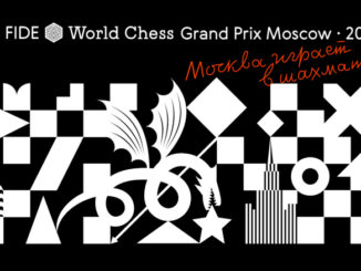 Official FIDE Grand Prix Moscow Logo