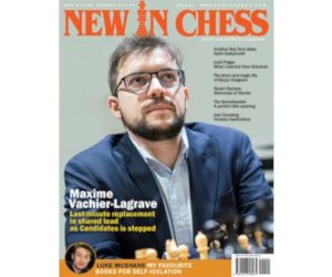 Cover of New In Chess Magazine.